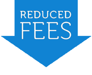 fees reduced 300