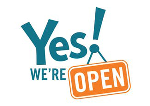 Yes-were-open300